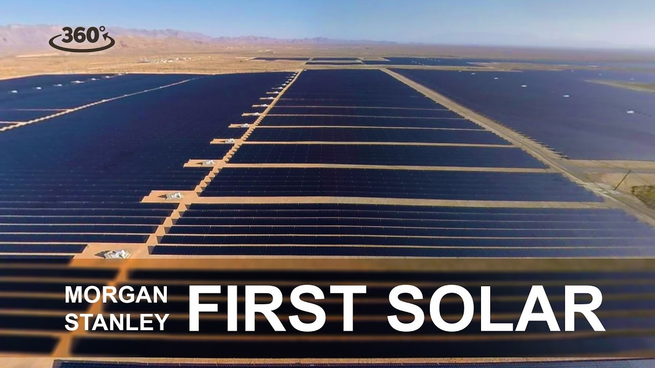 "360 ""Capital Creates Change"" FirstSolar – Wall Street Journal for Morgan Stanley"